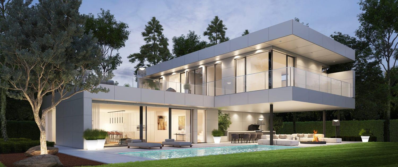 Modernes Einfamilienhaus Bauen Modernes Domizil